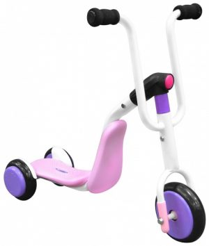 2-in-1 Tri-scooter step Stamp Meisjesfiets 227799