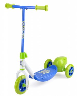 3-wiel kinderstep Bubble Scooter Xootz Jongensfiets 448155